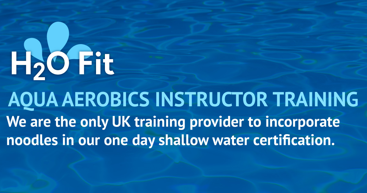 H2o Fit Aqua Instructor Training Courses